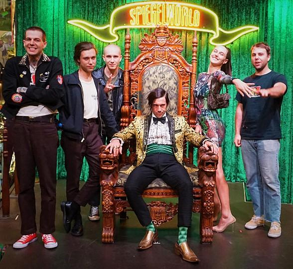 The Neighbourhood Attend ABSINTHE at Caesars Palace in Las Vegas
