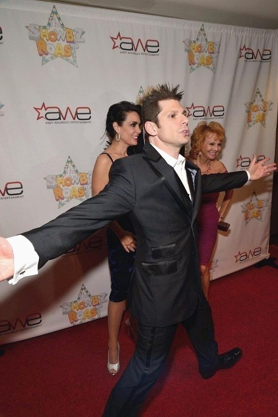 Mike Hammer photobombs the Red Carpet
