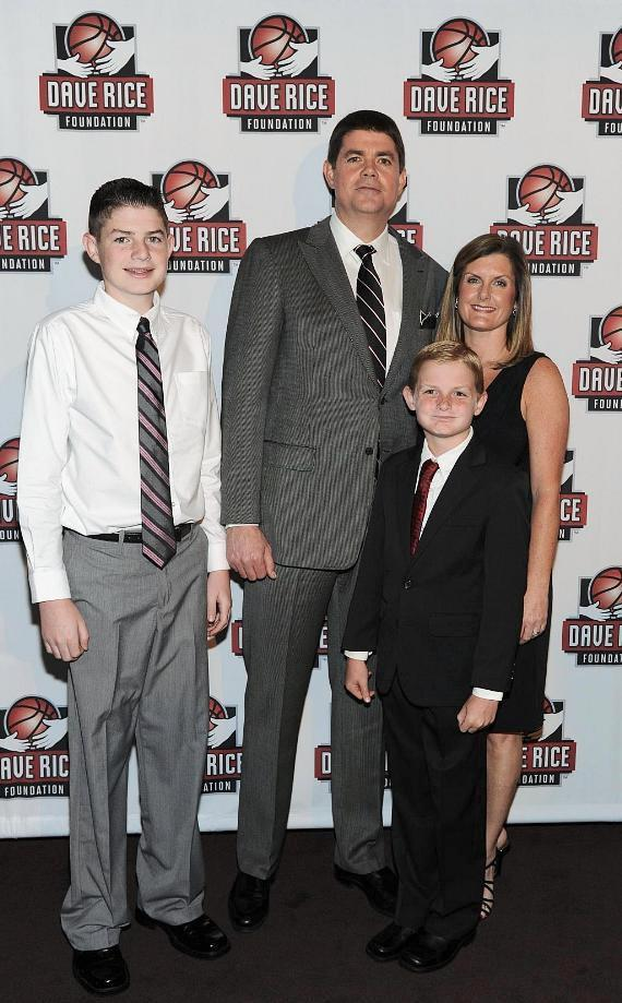 Dave Rice and his family