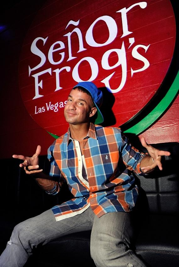 The Situation sits in his VIP Booth at Senor Frog's