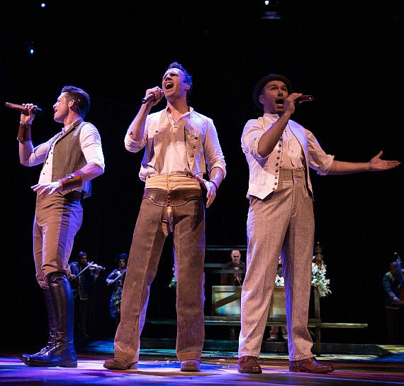 The Tenors star in fifth annual One Night for One Drop at the Zumanity Theatre in Las Vegas