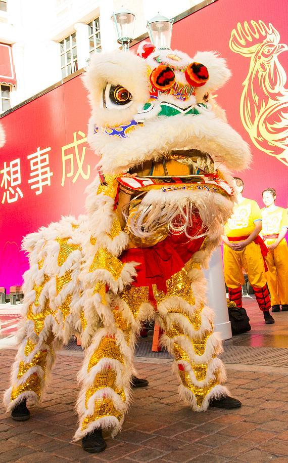 The Venetian and The Palazzo celebrate Chinese New Year 2017 with a lion dance