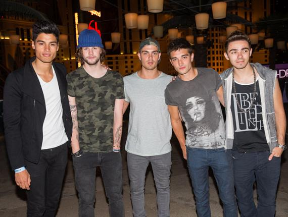 The Wanted at The Cosmopolitan of Las Vegas