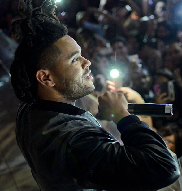 R&B Sensation The Weeknd Performs at PURE Nightclub