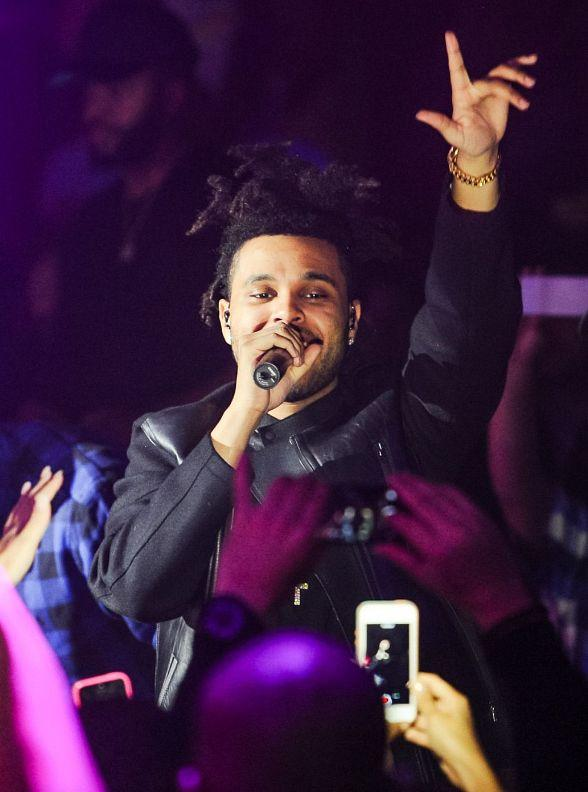 R&B Sensation The Weeknd Puts On Special Performance Inside Hakkasan Las Vegas
