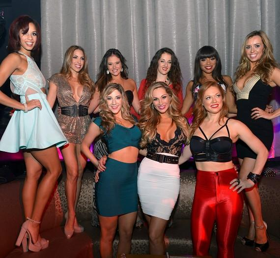 "The cast of FANTASY at the ""FANTASY After Dark"" party at LAX Nightclub"