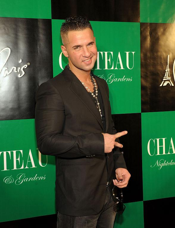 Mike 'The Situation' Sorrentino at Chateau Nightclub and Gardens