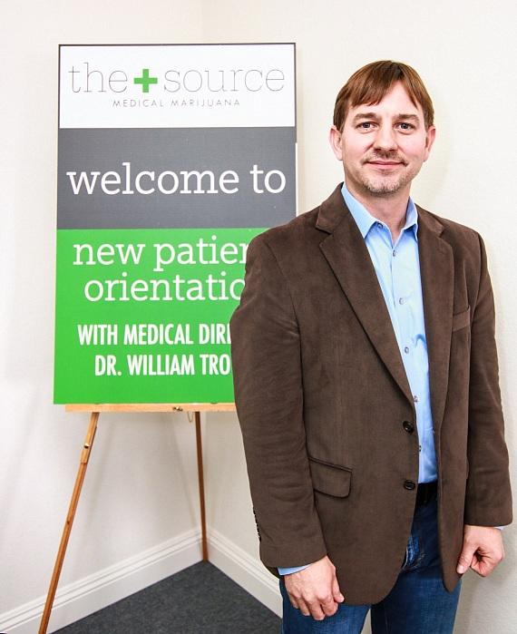Dr. Troutt at The+Source Grand Opening Event