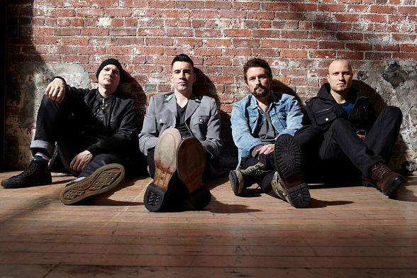"Theory of a Deadman to Kick Off ""Rock of Vegas Summer Concert Series"" at Fremont Street Experience"