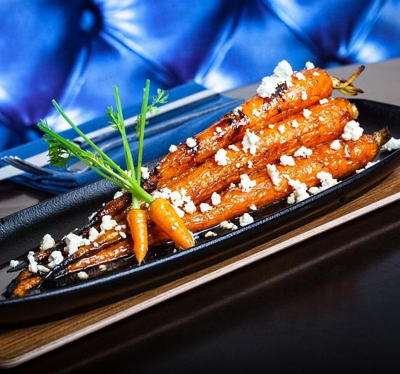 Fire Roasted Carrots at Therapy
