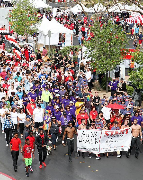 Aid for AIDS of Nevada Announces 29th Annual AIDS Walk Las Vegas April 7