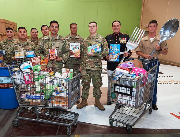 Three Square Food Bank and Those Who Serve, Represent & Protect Local Community Kick-Off 'Fill the Plate'
