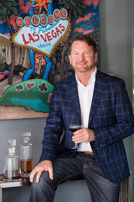 Back Bar founder and UNLV alumnus, Tim Haughinberry
