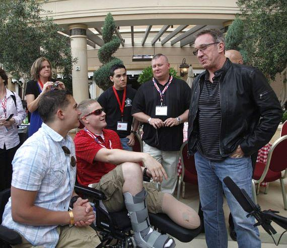 Tim Allen and troops