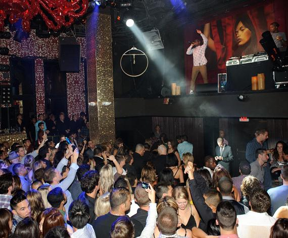 Tinie Tempah performs at TAO