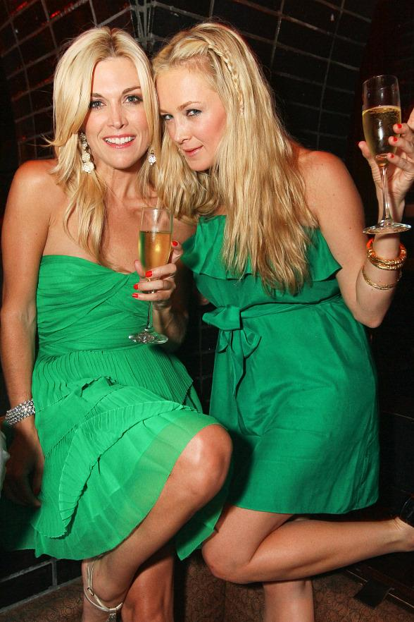 Tinsley Mortimer and Dabney Mercer at LAVO
