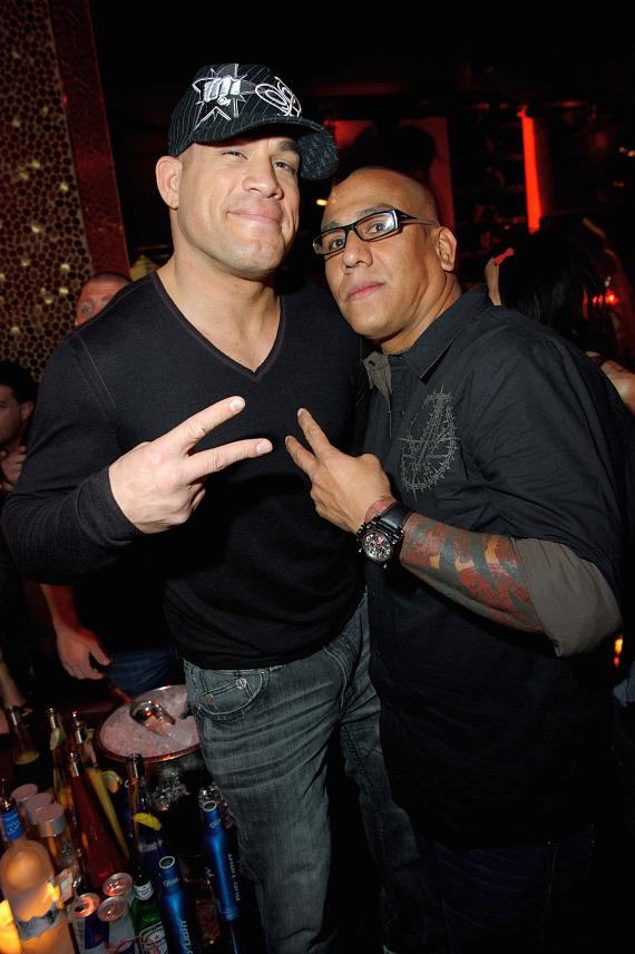 Tito Ortiz and Tom Atencio at TAO