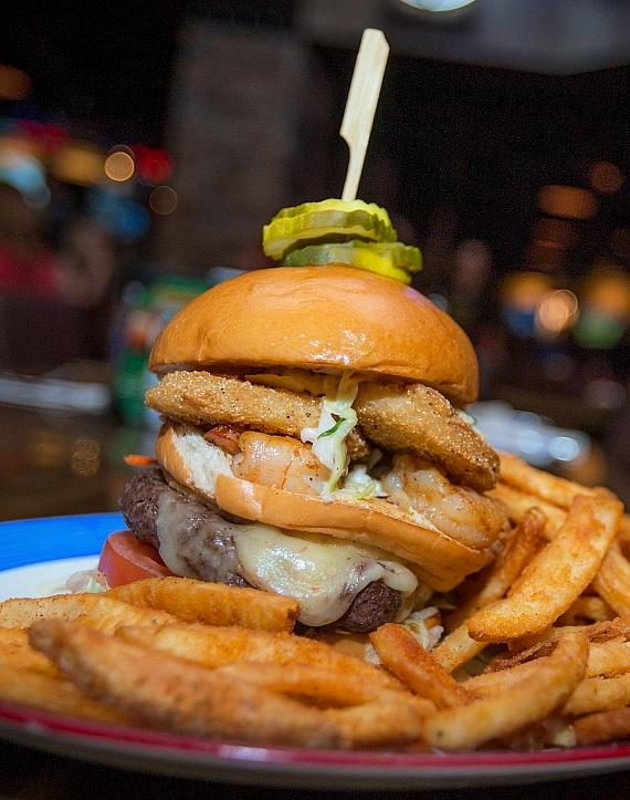 Toby Keith's I Love This Bar & Grill's Anniversary Burger