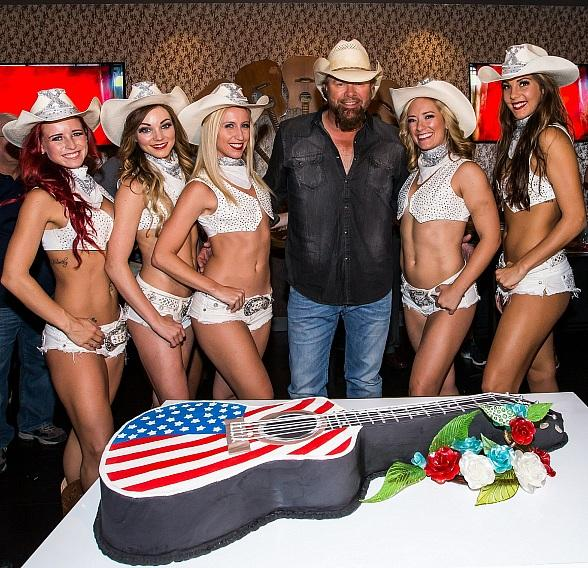 Toby Keith Celebrates 10 Years at Harrah's Las Vegas
