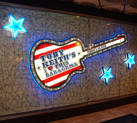 Toby Keith's I Love This Bar & Grill at Harrah's Las Vegas