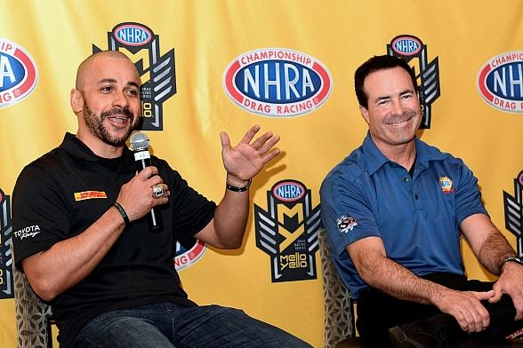 NHRA Stars Ready for Four-Wide Festivities at The Strip at Las Vegas Motor Speedway