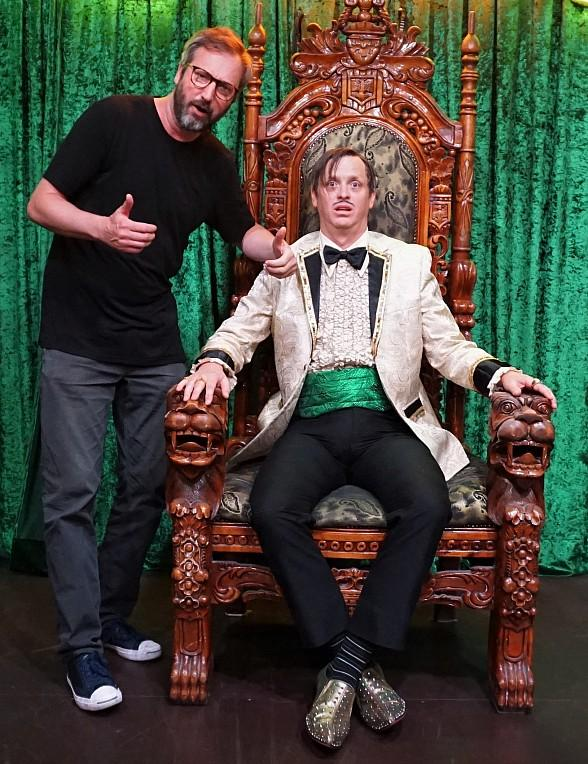 Comedian Tom Green Attends ABSINTHE at Caesars Palace in Las Vegas