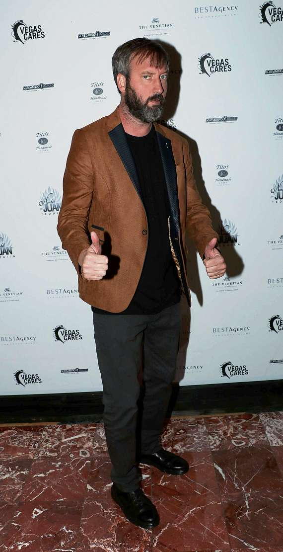 "Tom Green at ""Vegas Cares"" Benefit at The Venetian Las Vegas"