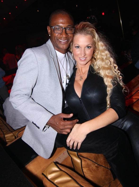 Comedian Tommy Davidson Parties At 1 Oak Nightclub At The