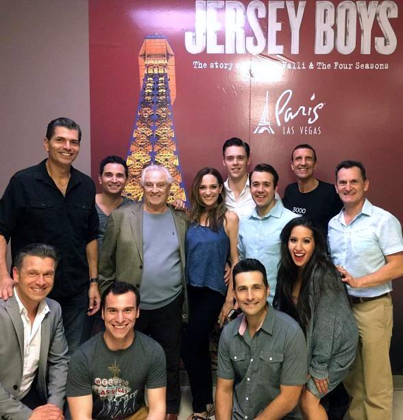 Original Four Seasons Member Tommy DeVito attends Jersey Boys Las Vegas at Paris Las Vegas