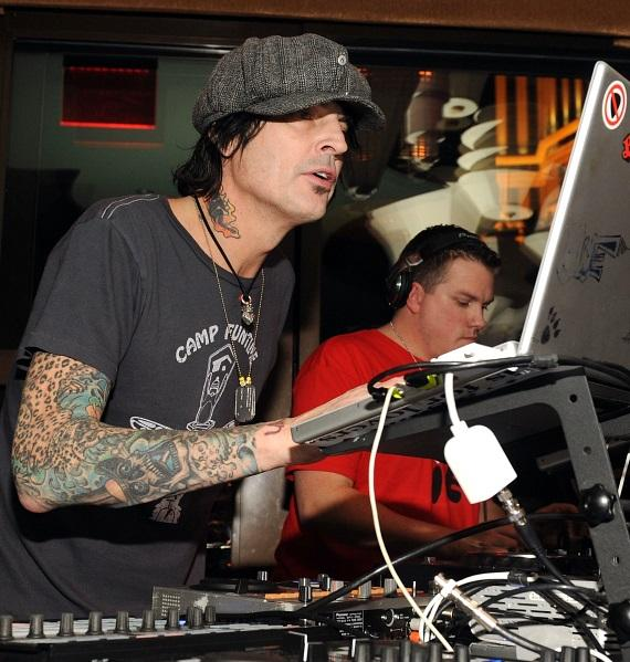 Tommy Lee at Blush Boutique Nightclub
