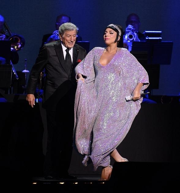 Tony Bennett and Lady Gaga Make Debut Performance at The Cosmopolitan of Las Vegas