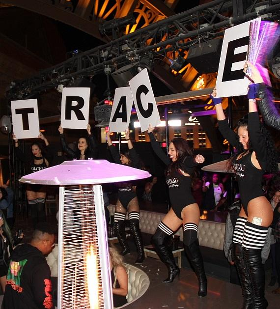Trace Cyrus welcome at Chateau Nightclub in Las Vegas