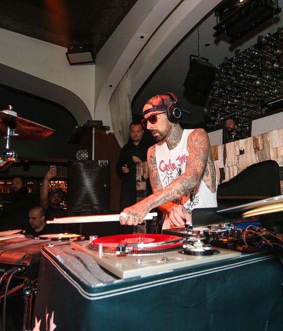 Travis Barker at Hyde Bellagio