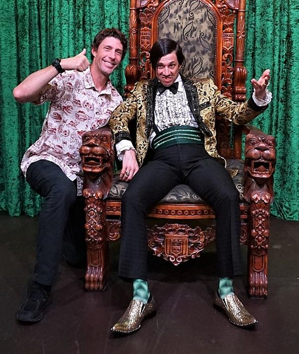 Nitro Circus Star Travis Pastrana Attends ABSINTHE at Caesars Palace in Las Vegas