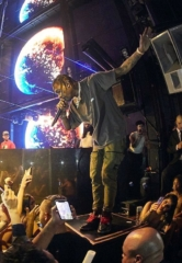 Travis Scott Takes Over Marquee Nightclub in The Cosmopolitan of Las Vegas