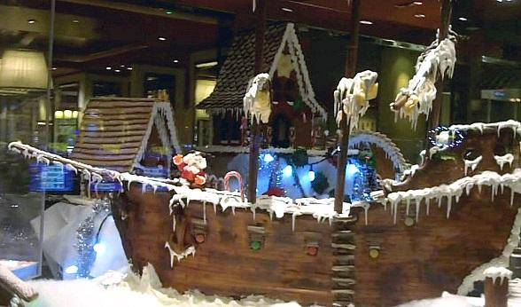 Treasure Island Takes Top Honors at Magical Forest Gingerbread House Village Competition