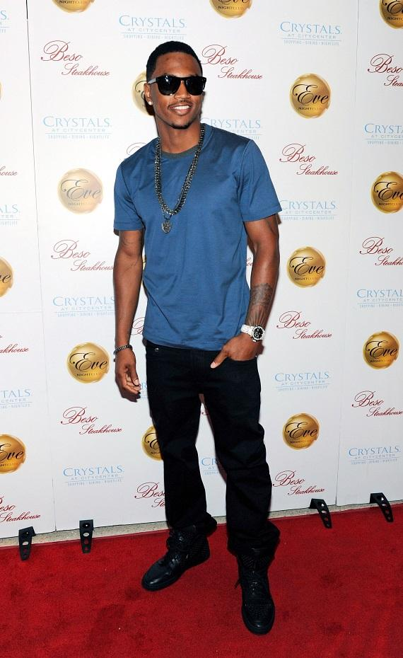 Trey Songz on the red carpet