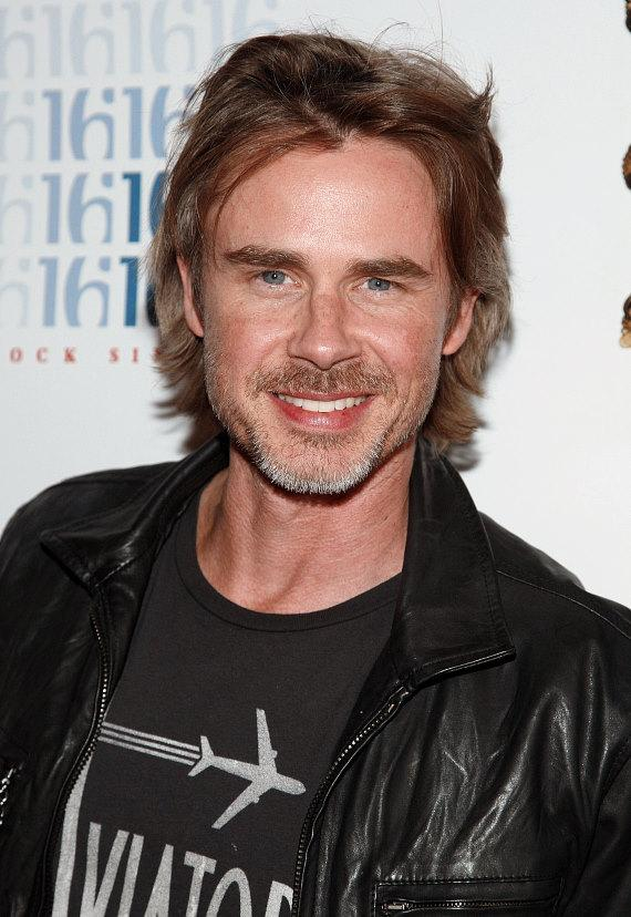 True Blood star Sam Trammell on red carpet at Planet Hollywood in Las Vegas
