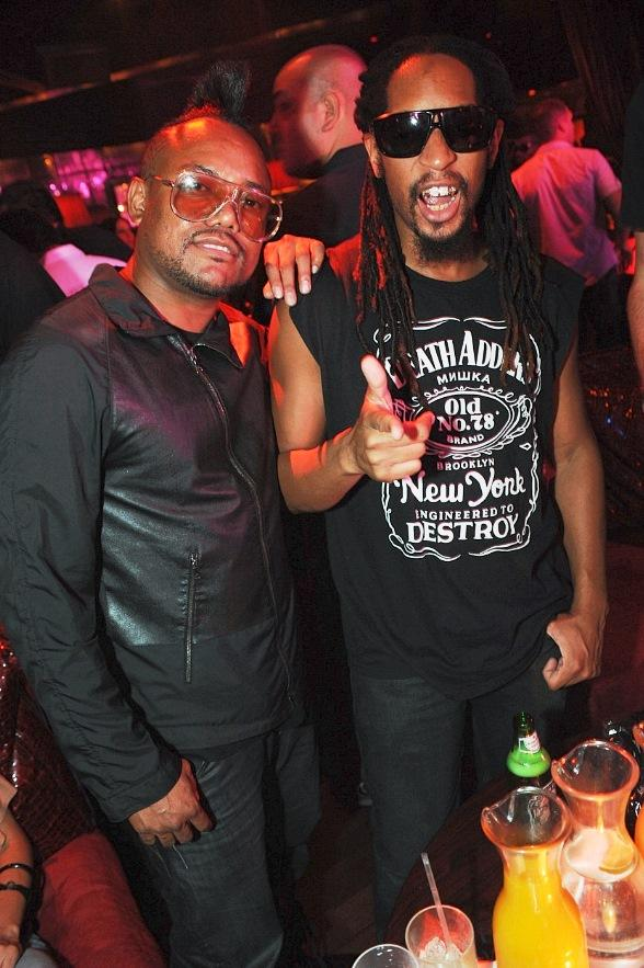 Apl.de.ap and Lil Jon at Tryst Nightclub