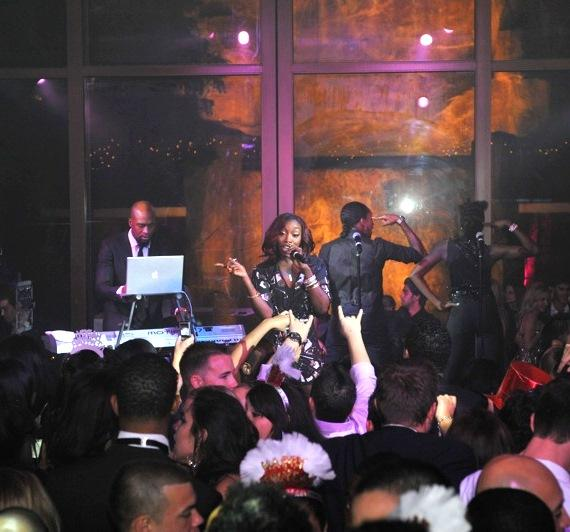 Estelle at Tryst Nightclub