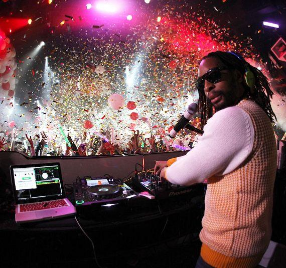 Lil Jon spins at Tryst on New Year's Eve