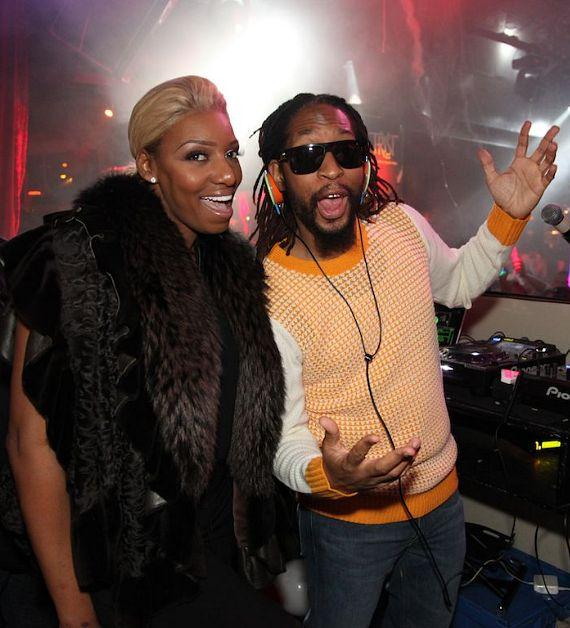 NeNe Leakes and Lil Jon at Tryst