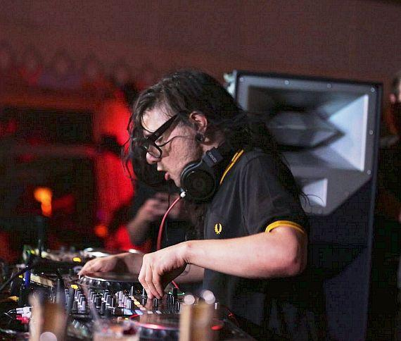 Skrillex Performs at Tryst Nightclub at Wynn Las Vegas