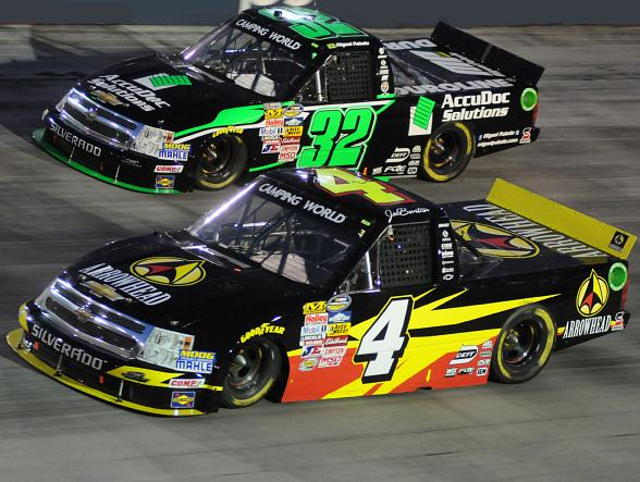 Turner Scott 2013 - #4 Jeff Burton and #32 Miguel Paludo
