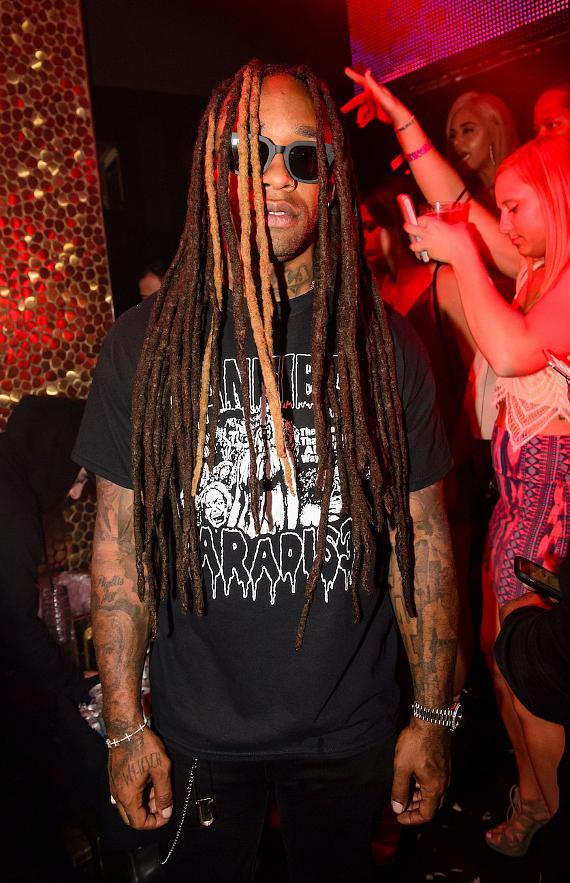 Ty Dolla at at TAO Thursday in Las Vegas
