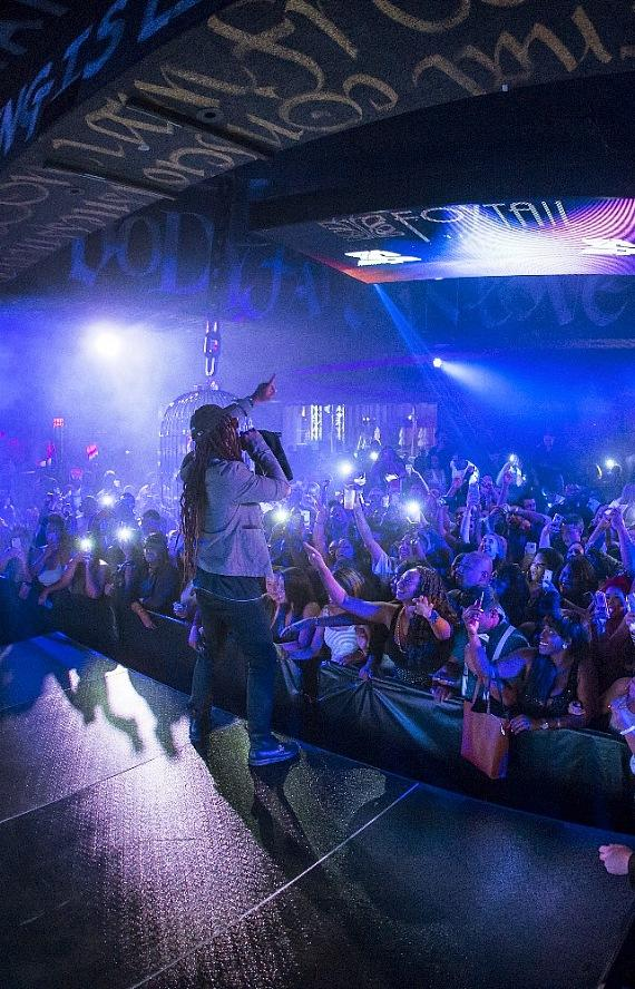 Ty Dolla $ign Performs Live at Foxtail Nightclub