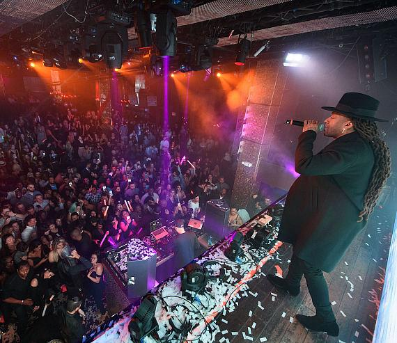 Ty Dolla $ign performs at TAO