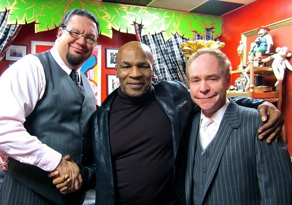 Mike Tyson at Penn & Teller's Show at Rio All-Suite Hotel