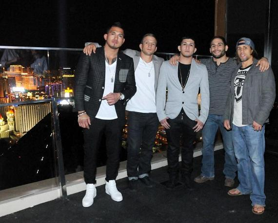 Anthony Pettis, TJ Dillashaw, Sergio Pettis, Chad Mendes and Urijah Faber