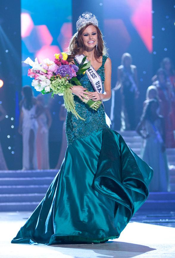 Miss California USA 2011, Alyssa Campanella, is the winner of the 2011 MISS USA Competition